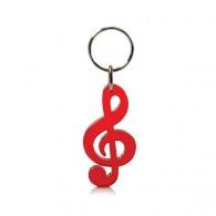 Porte-clés logoté clé de sol