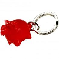 Porte-clés cochon happy recyclé