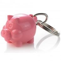 Porte-clés cochon mini recyclé