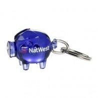 Porte-clés personnalisé cochon piggy