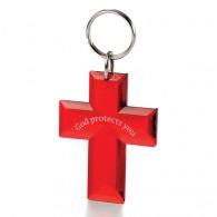 Porte-clés publicitaire crucifix