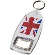 Porte-clés décapsuleur avec insert