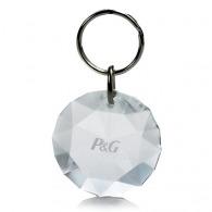 Porte-clés personnalisé diamant