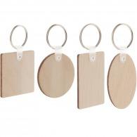 Porte-clés en bois léger