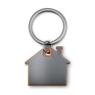 Porte-clés maisons avec marquage