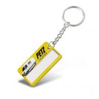 Porte-clés à fenêtre avec insert avec personnalisation