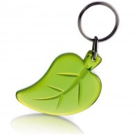 Porte-clés feuille recyclé