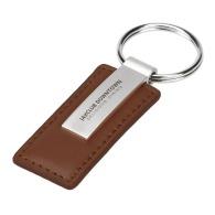 Porte-clés publicitaire imitation cuir