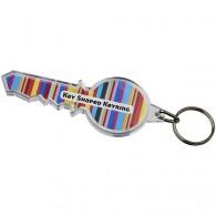 Porte-clés insert en forme de clef