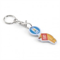 Porte-clés jetons avec logo