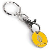 Porte-clés jeton logotés classique