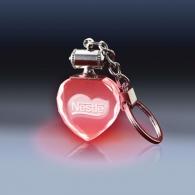 Porte-clés lumineux personnalisable