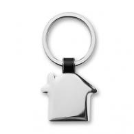 Porte-clés en métal sur stock avec marquage