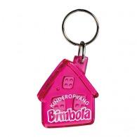 Porte-clés maisons personnalisé