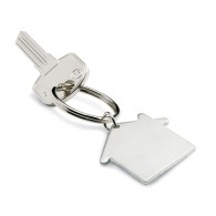 Porte-clés en métal sur stock publicitaire