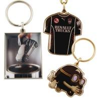 Porte-clés métal quadri premium 30mm