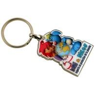Porte-clés métal quadri premium 45mm