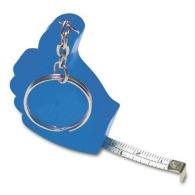Porte-clés mètre ruban 'pouce' 1m