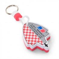 Porte-clés publicitaire mousse eva 50x30 mm