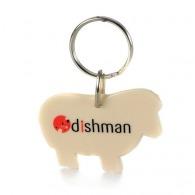 Porte-clés personnalisé mouton