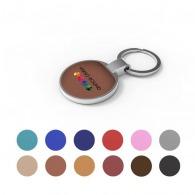 Porte-clés en cuir publicitaire