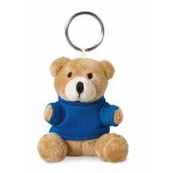 Porte-clés peluche avec logo