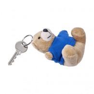 Porte-clés peluche logotés avec T-shirt.