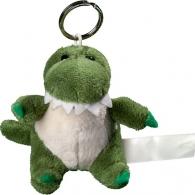 Porte clés peluche crocodile.