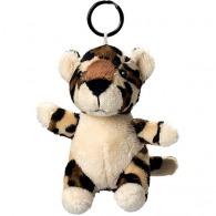Porte clés peluche léopard