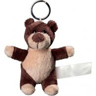 Porte clés peluche ours.