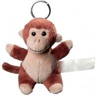 Porte clés peluche singe.