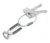 Porte-clés en métal sur stock personnalisé