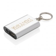 Porte-clés powerbank personnalisé 1000mAh