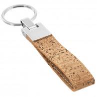 Porte-clés boucle en liège
