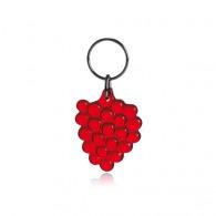 Porte-clés personnalisé raisin