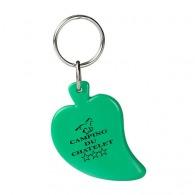 Porte-clés plastique personnalisable