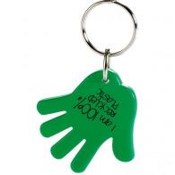 Porte-clés plastique avec logo