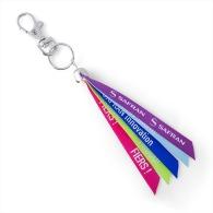 Porte-clés ruban personnalisable