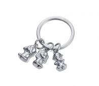 Porte-clés en métal sur stock promotionnel