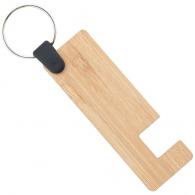 Porte-clés support bambou