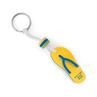 Porte-clés personnalisable tong mousse eva