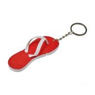 Porte-clés personnalisable 'tongs' en EVA.