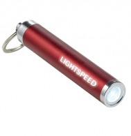 Porte-clés torche avec logo lumineux