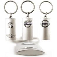 Porte-clés en métal sur-mesure personnalisable