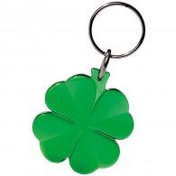 Porte-clés personnalisable trèfle à 4 feuilles