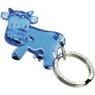 Porte-clés vache recyclé