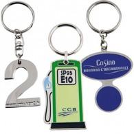 Porte-clés en métal éco