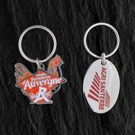 Porte-clés en métal sur-mesure customisé