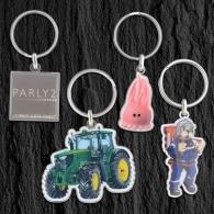 Porte-clés en métal sur-mesure promotionnel