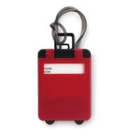 Porte-étiquette à bagage publicitaire en plastique